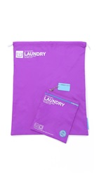 Flight 001 Go Clean Laundry Bag Purple