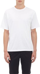 Tomorrowland Boxy Drop Shoulder T Shirt White