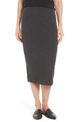 Eileen Fisher Women's Cozy Jersey Pencil Skirt