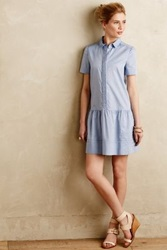Anthropologie Tela Shirtdress Sky