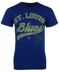 Majestic Men's St. Louis Blues Vintage Inspired Performance T Shirt