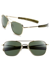 Randolph Engineering 'Aviator' 55Mm Polarized Sunglasses 23K Gold Plated Agx