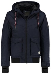 Tom Tailor Denim Winter Jacket Night Sky Blue Dark Blue