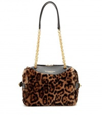 Burberry The Alchester Printed Bowling Bag Brown