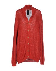 People Knitwear Cardigans Women Brick Red