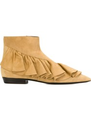 J.W.Anderson J.W. Anderson 'Ruffle' Bootie Nude And Neutrals