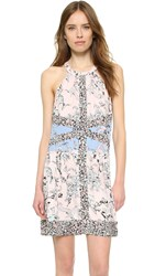 Bcbgmaxazria Sharlot Dress Dusty Rose Multi