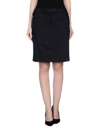 Marina Yachting Knee Length Skirts Dark Blue