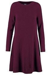 Ftc Jumper Dress Plum Bordeaux