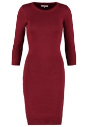 Zalando Essentials Jumper Dress Bordeaux