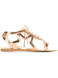 Stella Mccartney 'Lucy Star' Sandals Pink And Purple