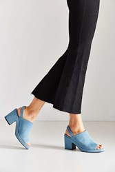 Urban Outfitters Florence Slingback Heel Blue
