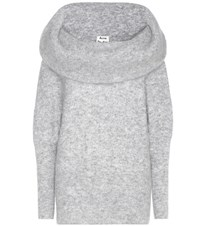 Acne Studios Daze Mohair And Wool Blend Sweatshirt Grey