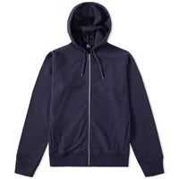 Paul Smith Side Logo Zip Hoody Blue