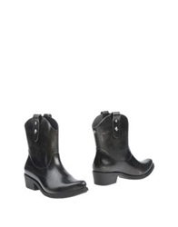 Melissa Ankle Boots Black