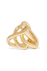 Jennifer Fisher Chaos Gold Plated Pinky Ring