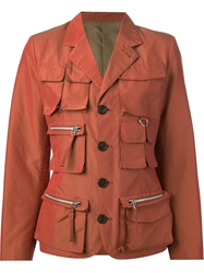 Jean Paul Gaultier Vintage 'Hunting' Jacket Yellow And Orange