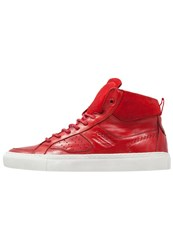 Dockers By Gerli Hightop Trainers Rot Red