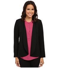 Nydj Career Cascade Jacket Black Women's Coat