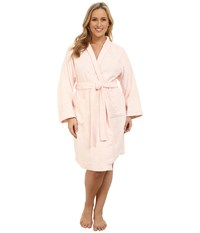 Lauren Ralph Lauren Plus Size Greenwich Robe Light Pink Women's Robe