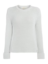 Barbour Clove Hitch Long Sleeve Sweater Grey