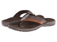 Vionic With Orthaheel Technology Joel Chocolate Tan Men's Sandals Brown