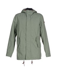 Tommy Hilfiger Denim Coats And Jackets Jackets Men Green