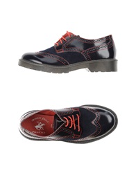 Beverly Hills Polo Club Lace Up Shoes Dark Blue