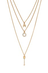 Forever 21 Curb Chain Necklace Set