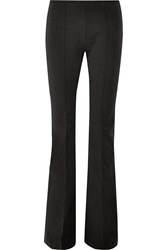 Michael Kors Stretch Cotton And Modal Blend Flared Pants