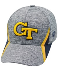 Top Of The World Georgia Tech Yellow Jackets Hotd M Fit Cap Gray
