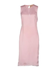 Ndegree 21 Knee Length Dresses Pink
