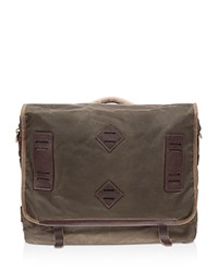 Will Leather Goods Mirror Lake Messenger Bag Olive