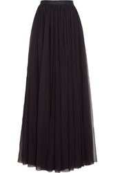 Needle And Thread Tulle Maxi Skirt Midnight Blue