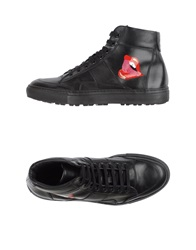 Alberto Moretti High Tops And Trainers Black