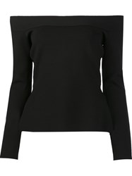 Roland Mouret 'Tasso' Top Black