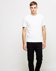 Farah Denny Short Sleeve Crew Neck T Shirt White