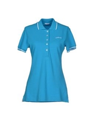 Roy Rogers Roy Roger's Polo Shirts Turquoise