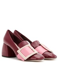 Miu Miu Patent Leather Pumps Red