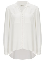 Alice By Temperley Somerset By Alice Temperley High Low Blouse Cream