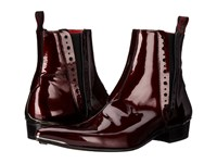 Jeffery West Chelsea Boot Charcoal Metal Wine
