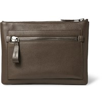 Tom Ford Full Grain Leather Portfolio Brown