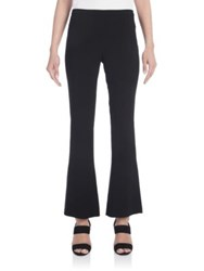 Emilio Pucci Stretch Cady Cropped Bootcut Pants Black