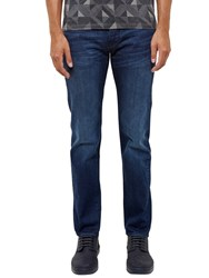 Ted Baker Simms Straight Fit Jeans Mid Wash