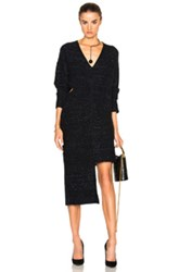 Stella Mccartney Flannel Dress In Black