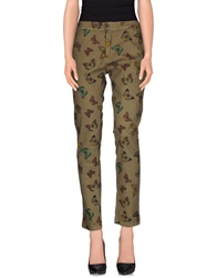 Macchia J Casual Pants Military Green