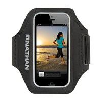 Nathan Supersonic 3 For Iphone Runner Armband Black Sulfur Spring