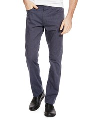 Kenneth Cole Slim Flat Front Pants Indigo