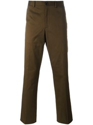 Paul Smith Ps By Slim Fit Chinos Green