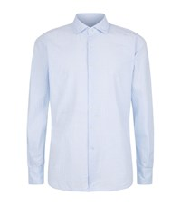 Slowear Grid Check Shirt Male Light Blue